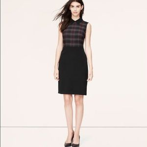 Ann Taylor LOFT Plaid Dress